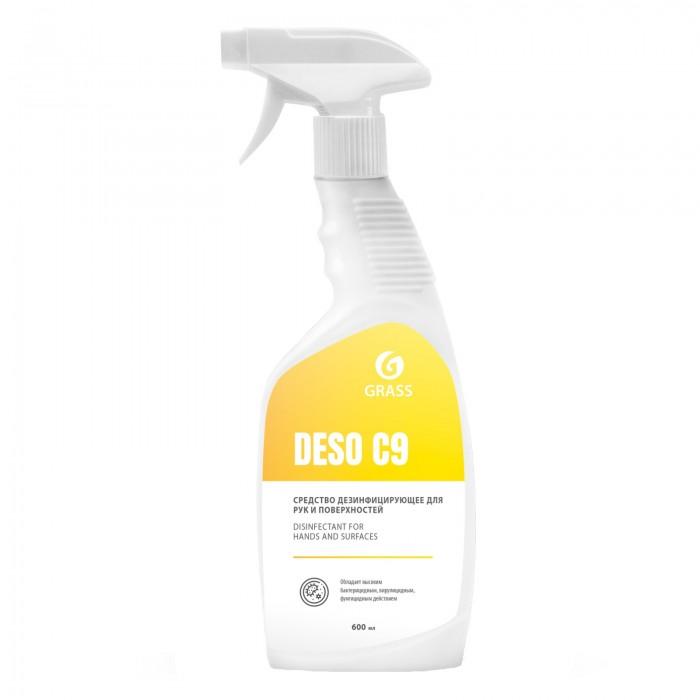 Бытовая химия Grass Дезинфицирующее средство DESO C9 600 мл недорого