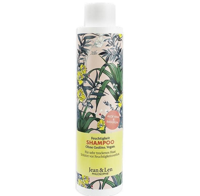 Купить Косметика для мамы, Jean&Len Шампунь увлажняющий для сухих волос с алоэ вера, бергамотом и базиликом 300 мл