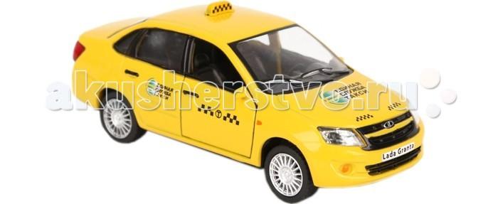 Carline Машина инерционная 1:32 Lada Granta GT6609 Такси