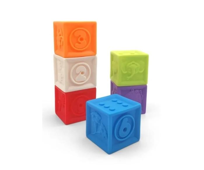 Развивающие игрушки, Развивающая игрушка Play Smart Мягкие кубики IT106447  - купить со скидкой