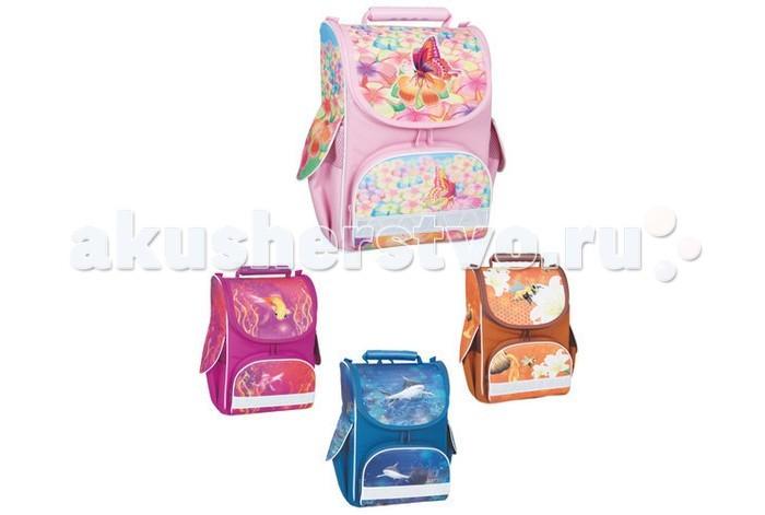 Развитие и школа , Школьные рюкзаки Tiger Enterprise Ранец школьный Nature Quest Flowers арт: 106408 -  Школьные рюкзаки
