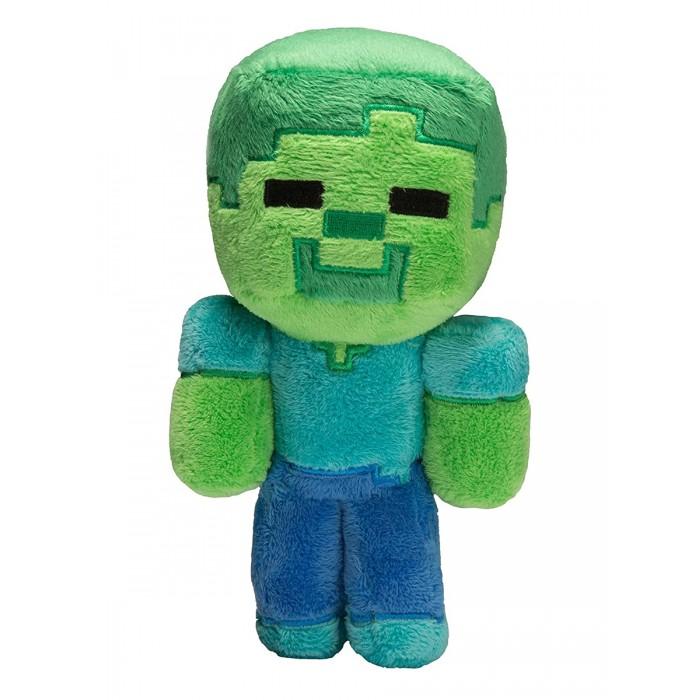 Купить Мягкие игрушки, Мягкая игрушка Minecraft Baby Zombie 22 см
