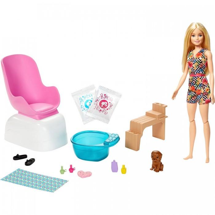 Купить Куклы и одежда для кукол, Barbie Набор игровой для маникюра и педикюра