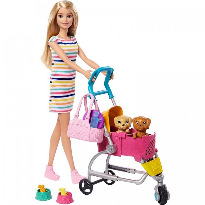 Купить Куклы и одежда для кукол, Barbie Кукла с щенком в коляске