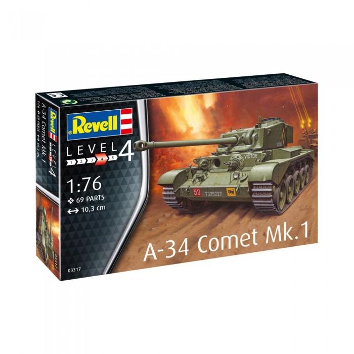 Купить Сборные модели, Revell Сборная модель Британский танк Комета A-34 Mk.1