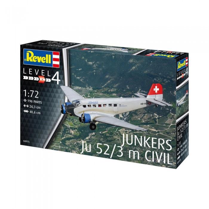 Купить Сборные модели, Revell Сборная модель самолёта Юнкерс Ю 52/3м