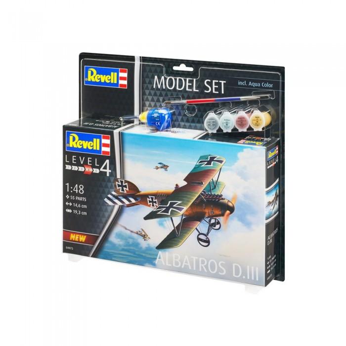 Купить Сборные модели, Revell Набор со сборной моделью самолета Альбатрос D.III