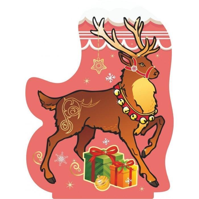 Новогодние украшения Учитель Модульная вырубная фигура на подставке Северный олень