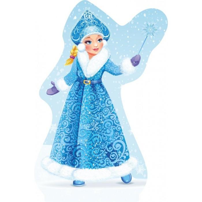 Новогодние украшения Учитель Модульная вырубная фигура на подставке Снегурочка