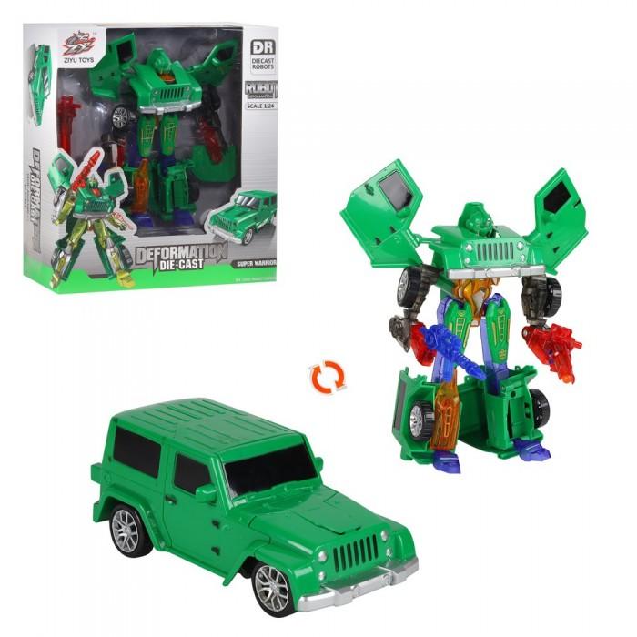 Купить Роботы, Ziyu Toys Машинка робот-трансформер JB400921