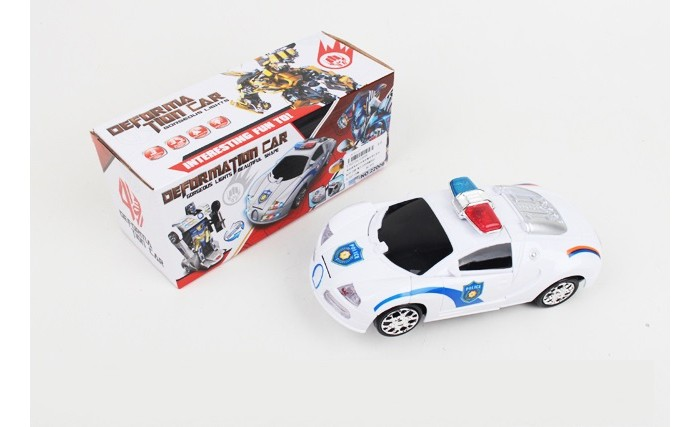 Роботы Компания друзей Машинка-трансформер Полиция