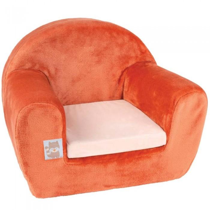 Мягкие кресла Nattou Креслице Jim & Bob Собачка и Енот бортики в кроватку nattou jim