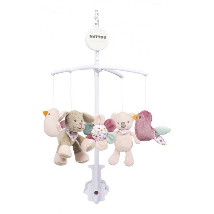 Мобили Nattou Iris & Lali Коала и Собачка мягкие игрушки nattou mini iris