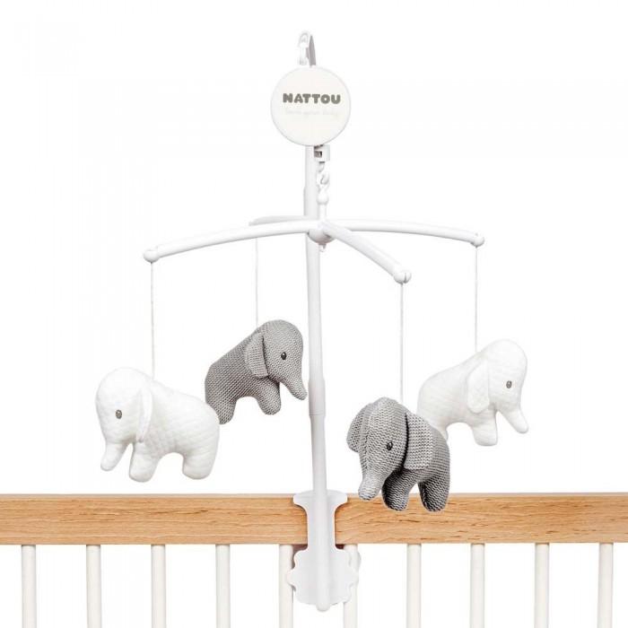Мобили Nattou Tembo Слоник мягкие игрушки nattou doudou tembo tricot слоник 28 см
