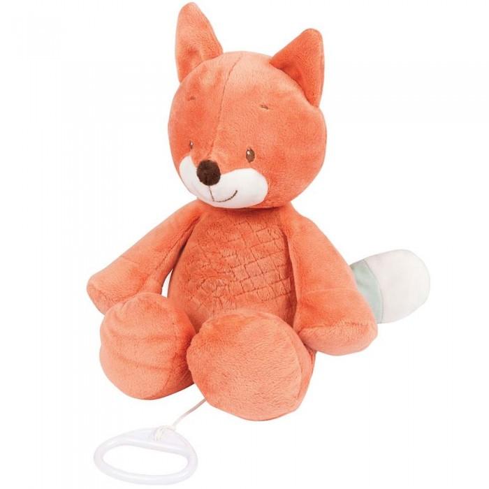 Купить Мягкие игрушки, Мягкая игрушка Nattou Musical Soft toy Fanny & Oscar Лисёнок музыкальная 27 см