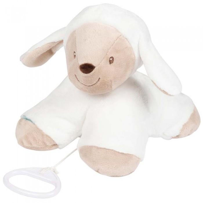 Мягкая игрушка Nattou Musical Soft toy Fanny & Oscar Овечка музыкальная 17 см