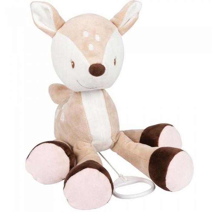 Купить Мягкие игрушки, Мягкая игрушка Nattou Musical Soft toy Fanny & Oscar Оленёнок музыкальная 29 см