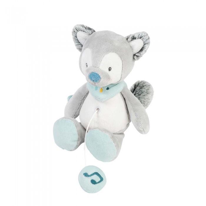 Мягкие игрушки Nattou Musical Soft toy Mini Tim & Tiloo Волк музыкальная 22 см мягкие игрушки nattou mini iris