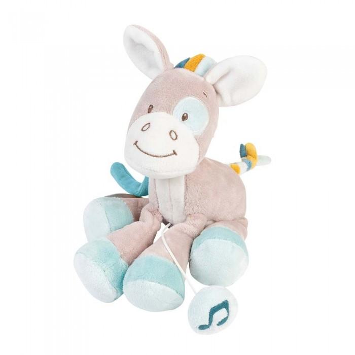 Мягкие игрушки Nattou Musical Soft toy Mini Tim & Tiloo Лошадка музыкальная 20 см мягкие игрушки nattou mini iris