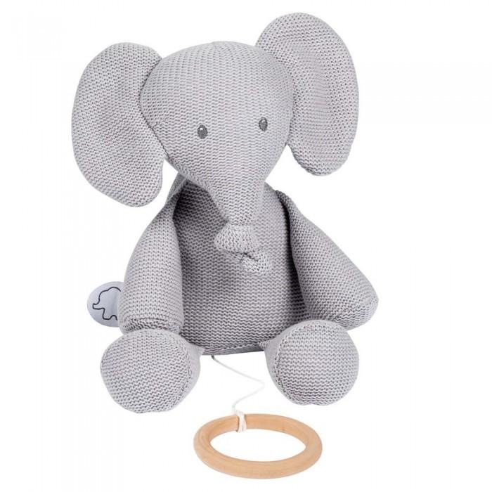 Купить Мягкие игрушки, Мягкая игрушка Nattou Soft toy Tembo tricot Слоник музыкальная 32 см