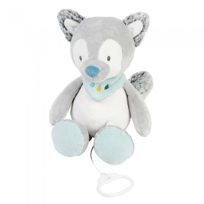 Мягкая игрушка Nattou Musical Soft toy Tim & Tiloo Волк музыкальная 30 см