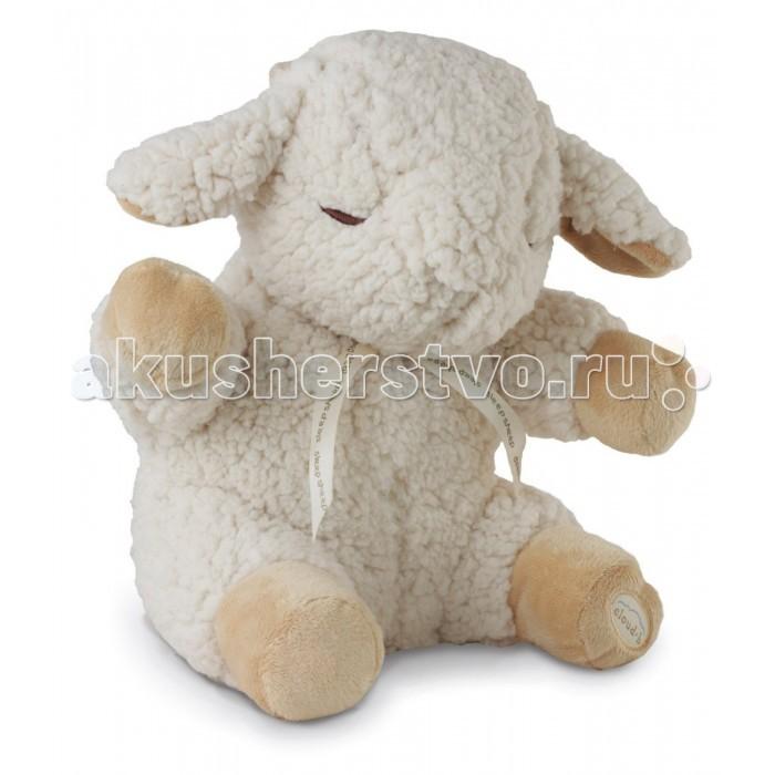 Мягкая игрушка Cloud b Сонная Овечка 7303-Z8-RUСонная Овечка 7303-Z8-RUМягкая игрушка Cloud b Сонная Овечка 7303-Z8-RU. Вам говорили, что для лучшего засыпания нужно считать овечек; а как насчет того, чтобы послушать одну из них? Сделать кроватку самым приятным местом в доме поможет наша знаменитая овечка Sleep Sheep, которая может воссоздавать белый шум, звуки природы или даже мамино сердцебиение.  Две функции в одном изделии: компаньон и игрушка для обнимашек убаюкивает ребенка успокаивающим белым шумом. Четыре убаюкивающих звука: Мамино сердцебиение Весенние ливни Морской прибой Песни китов. Таймер и функции звукового блока: две позиции таймера отключения: 23 и 45 минут липучка для легкого крепления к детской кроватке стандартная и походная версии. Требуются 2 батарейки типа AA (входят в комплект).<br>