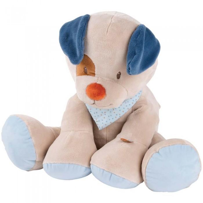 Купить Мягкие игрушки, Мягкая игрушка Nattou Soft toy Jim & Bob Собачка 75 см