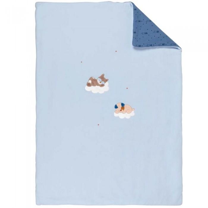 Пледы Nattou Jim & Bob Собачка и Енот 100х135 см бортики в кроватку nattou jim