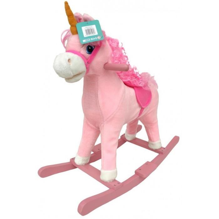 Купить Качалки-игрушки, Качалка Наша Игрушка Лошадка Единорог 74 см