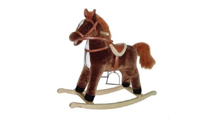 Фото - Качалки-игрушки Наша Игрушка Лошадка 78 см кукла наша игрушка на прогулке 15 см лошадка