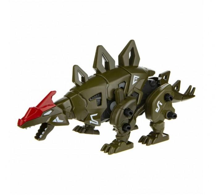 Роботы 1 Toy Сборная модель Robo Life Робо-стегозавр (49 деталей)