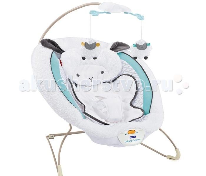 FitchBaby Кресло-качалка с игрушками и вибрацией Delux Bouncer 88918