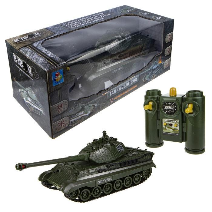 Радиоуправляемые игрушки 1 Toy Танк Взвод на радиоуправлении