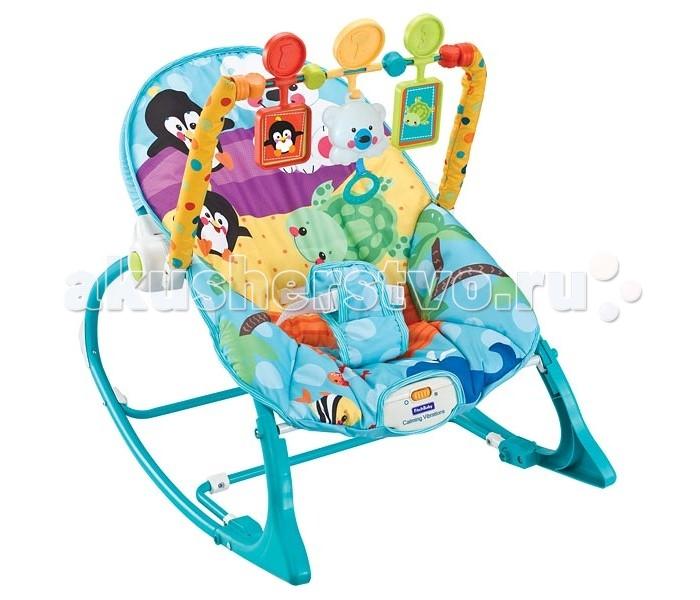 FitchBaby Кресло-качалка с игрушками и вибрацией Infant-To-Toddler Rocker 8815