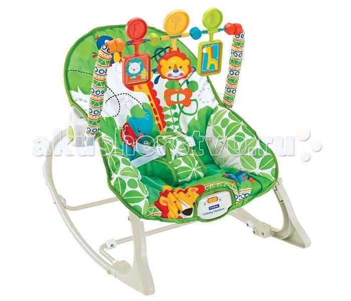 FitchBaby Кресло-качалка с игрушками и вибрацией Infant-To-Toddler Rocker 8816