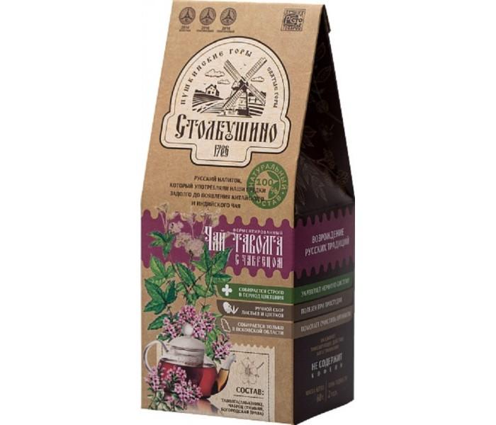 Чай Столбушинский продукт ферментированный таволга с чабрецом 60 г