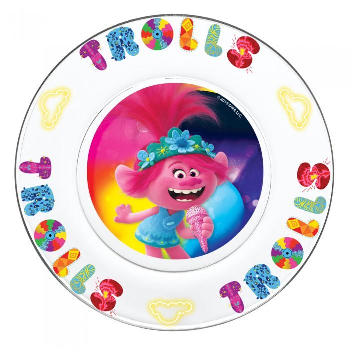 Картинка для Посуда ND Play Набор посуды из стекла Тролли 2 Серия Поп (3 предмета)