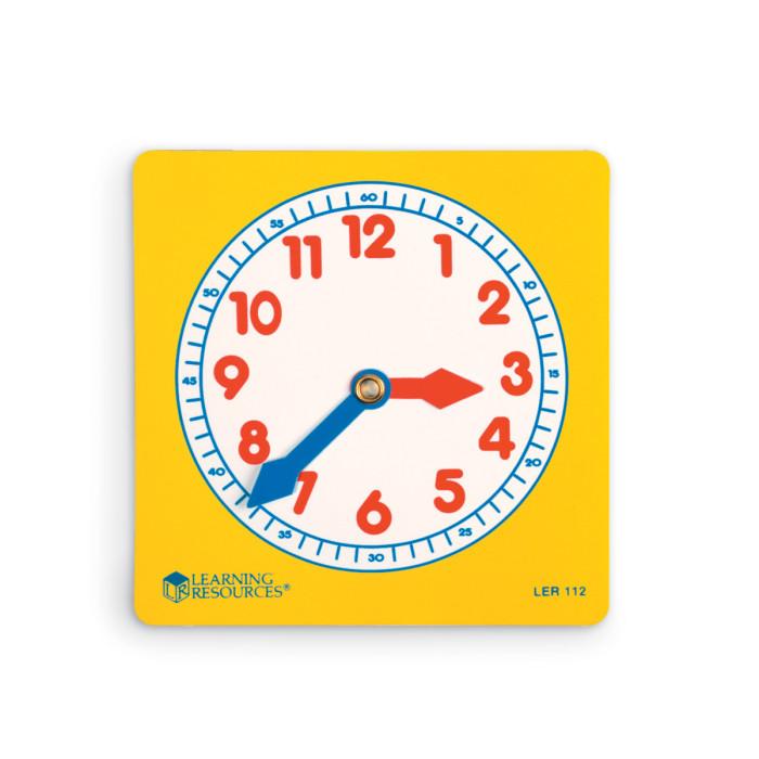 Раннее развитие Learning Resources Развивающая игрушка Учимся определять время Циферблаты (10 элементов)
