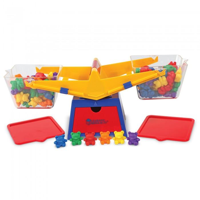 Развивающие игрушки Learning Resources Балансирующие медвежата Игрушечные весы (103 элемента с фигурками)