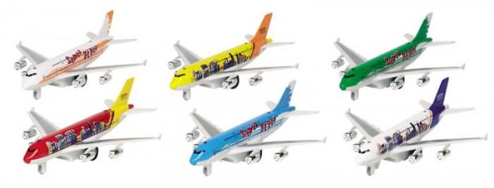 Вертолеты и самолеты Goki Самолет со светом и звуком 6 видов 18.5 см GK
