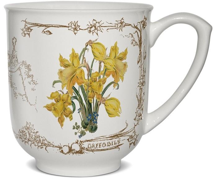 Картинка для PrioritY Кружка Цветы из Стратфорда Нарциссы в подарочной упаковке 380 мл