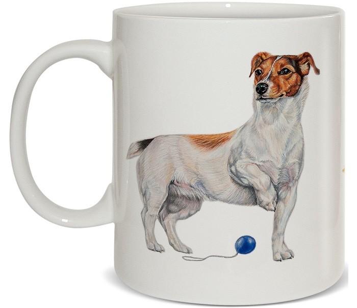 PrioritY Кружка Человек собаке друг Джек-рассел 420 мл