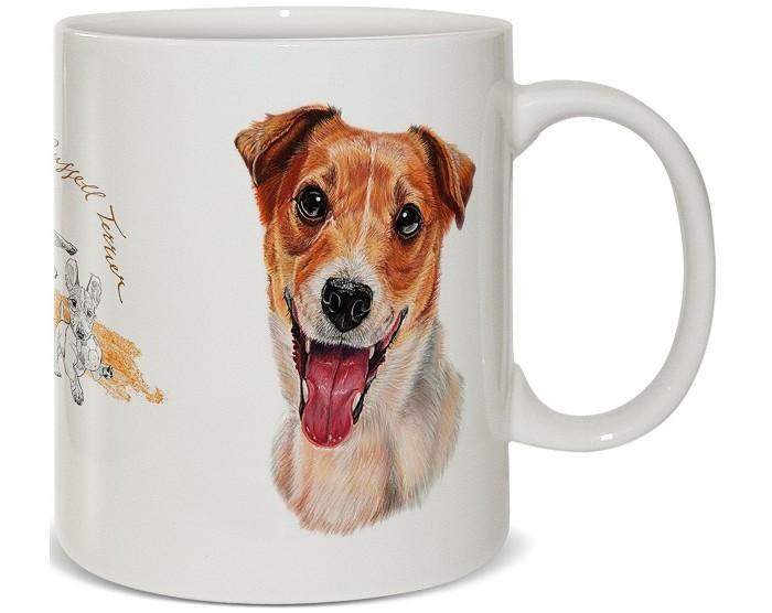 Купить Посуда и инвентарь, PrioritY Кружка Человек собаке друг Джек-рассел в подарочной коробке 420 мл