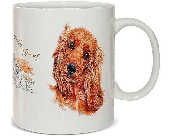 Купить Посуда и инвентарь, PrioritY Кружка Человек собаке друг Спаниель в подарочной коробке 420 мл