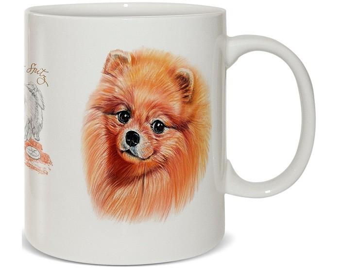 Купить Посуда и инвентарь, PrioritY Кружка Человек собаке друг Шпиц в подарочной коробке 420 мл