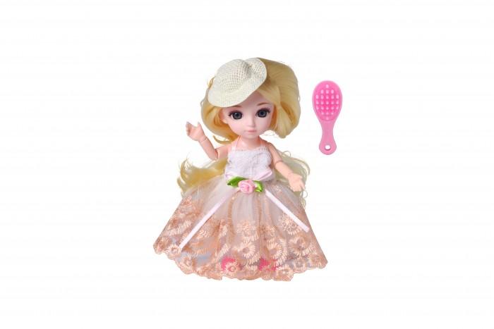 Куклы и одежда для кукол Funky Toys Кукла шарнирная Малышка Лили блондинка с расческой 16 см