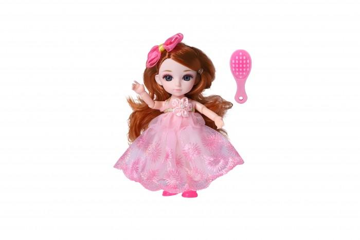 Куклы и одежда для кукол Funky Toys Кукла шарнирная Малышка Лили с расческой 16 см