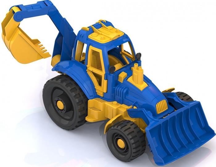 Машины Нордпласт Трактор с ковшом и грейдером