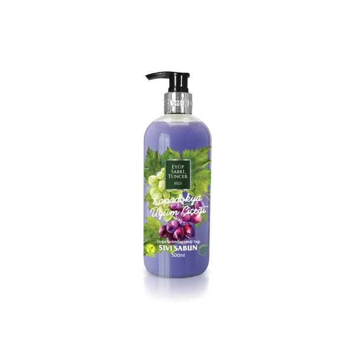 Косметика для мамы Eyup Sabri Tuncer Жидкое мыло Виноград с натуральным оливковым маслом 500 мл