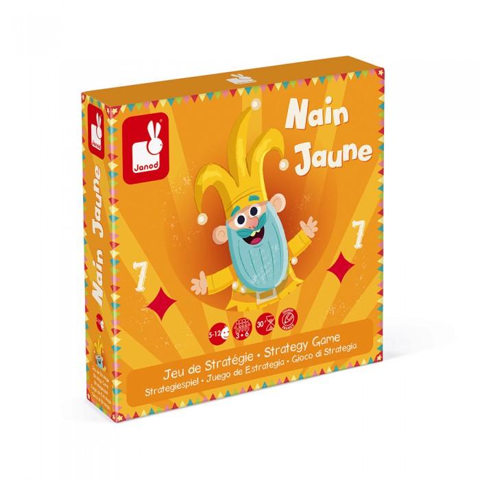 Фото - Настольные игры Janod Игра настольная карточная Желтый карлик настольные игры janod игра настольная шахматы луна парк